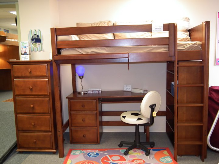 space is at a premium or your child enjoys sleepovers a trundle bed